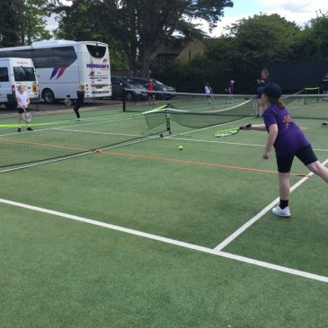 Year 3 and 4 Tennis Festival