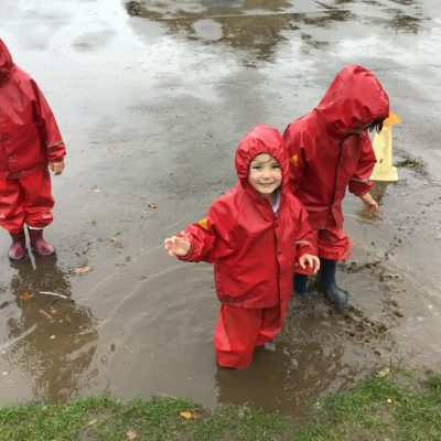 Enjoying the Puddles!