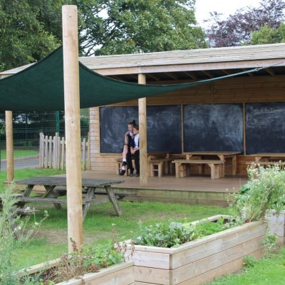 Our Pavilion for Outdoor Learning